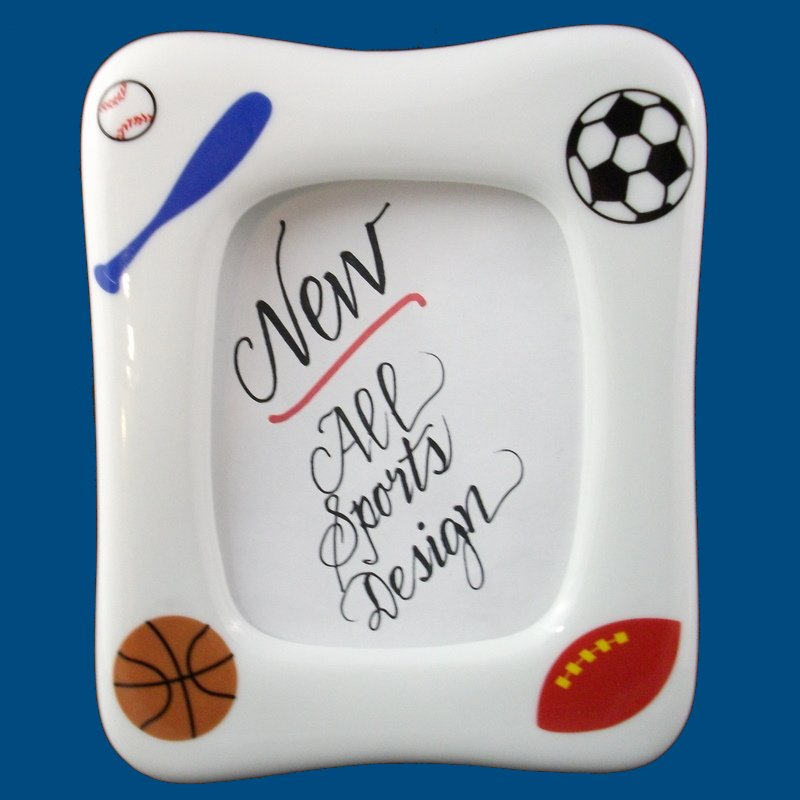 Sports Porcelain Designs